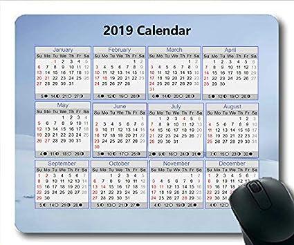 Calendrier scolaire 2019