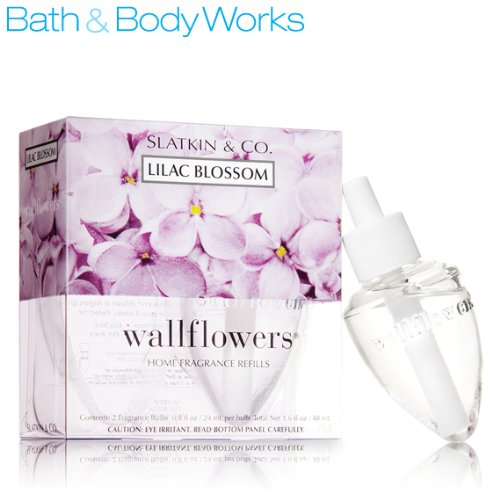 Bath Body Works Lilac Blossom Wallflowers Refill 2 Bulbs by Bath and Body Works
