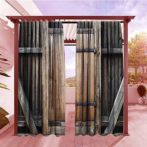 AndyTours - Cortina para Puerta corredera de bambú, diseño de ...