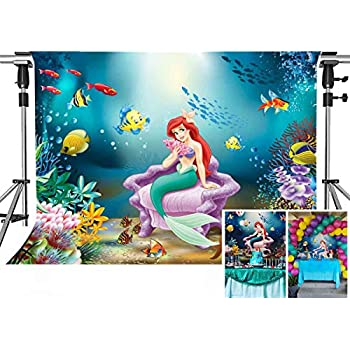 Camera & Photo Background Ocean Fish Photography Backdrop Kids Vinyl Backdrop For Photography Photocall Underwater Background For Photo Studio Cortina