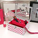 Con-Tact Brand Creative Covering Self-Adhesive Shelf Liner, Chevron Pink