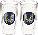 Tervis US Naval Academy Seal Emblem Tumbler (Set of 2), 16 oz, Clear