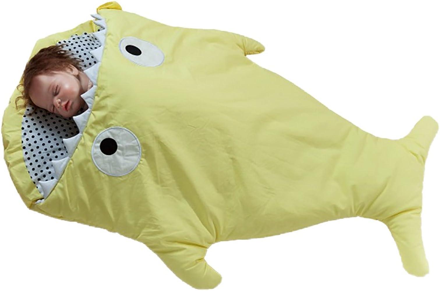 Tiburón Bites sacos de dormir para bebé recién nacido Muselina manta ...