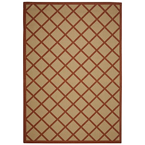 Diamond Indoor/Outdoor Island Porch - Braided Weather Rug All