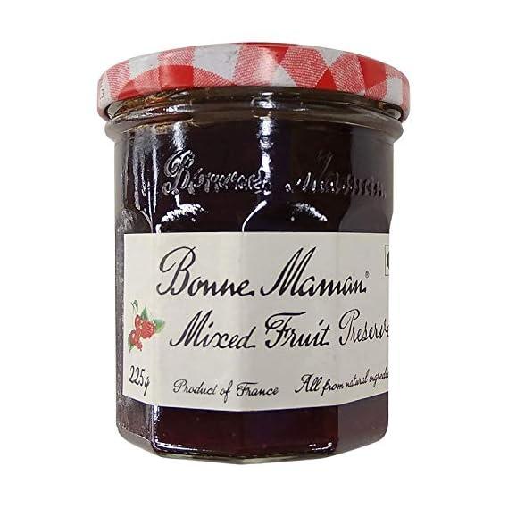 Bonne Maman Mixed Fruit - Preserve, Jam Jar, 225 g