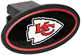 Siskiyou NFL Kansas City Chiefs Plastic Logo Hitch Cover, Class III