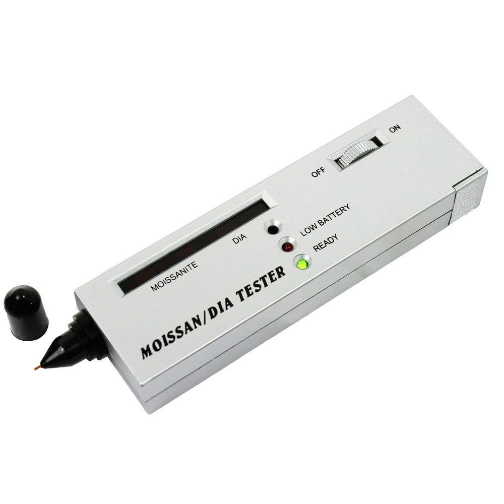 Professional High Accuracy Professional Jeweler Diamond Tester LED Diamond Indicator Test Pen by Fbest