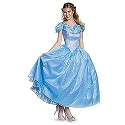 Disguise Women's Cinderella Movie Adult Prestige Costume