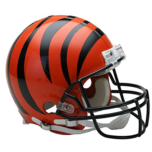 Cincinnati Bengals Officially Licensed NFL Proline VSR4 Authentic Football Helmet by Riddell