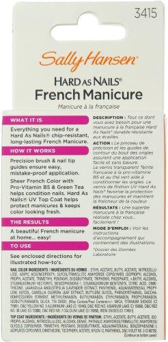sally hansen french manicure kit instructions