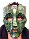 The Mask Mask Loki God of Love Deluxe Hard Resin Mask Movie Carrey