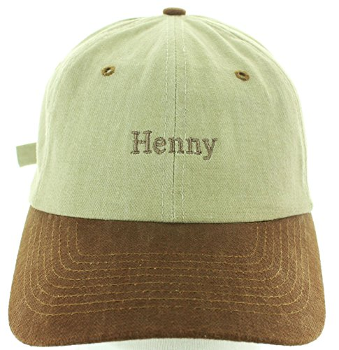 74328d16ef3 Henny Hat Embroidered in USA Baseball Hat