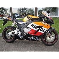 Orange Black Red White Fairing Injection for 2004-2005 Honda CBR 1000 RR 1000RR
