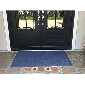 Extra Large Heavy Duty Front Door Mat Outdoor Indoor Entrance Doormat  Waterproof Low Profile Entrance Rug