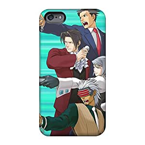 Scratch Protection Hard Phone Covers For Apple Iphone 6s Plus (VlI536xnkv) Allow Personal Design Beautiful Phoenix Wright Ace Attorney 16992 Pattern