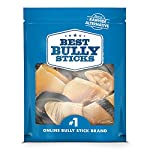 Best Bully Sticks 100% Natural Cow Hooves Dog Chews (25 Count Value Pack) - Free-Range & Grass-Fed Cattle - Long-Lasting Natural Alternative to Rawhide 9