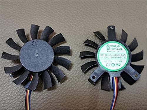zyvpee DFB500912M - Ventilador de CPU para Placa Base (4 Cables ...