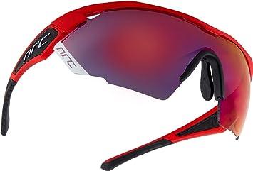 0924aaf818 NRC X Series - X3 RedouteColor de la montura: Color rojo fuego mate.Lente:  Espejado gris/rojo infierno (incluye lente transparente de repuesto).