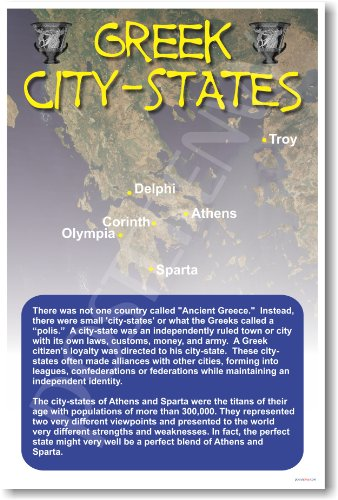 Ancient Greece: Greek City-States - Classroom Poster