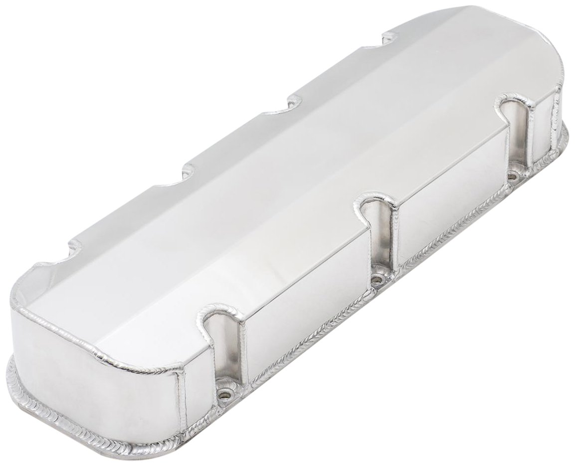 Top Street Performance JM8092-3P Polished Tall Fabricated Valve Cover Short Bolt