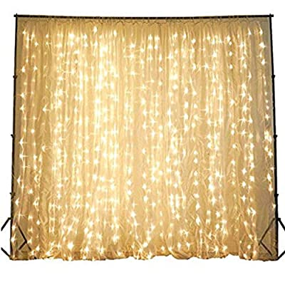 Driftway Sales String Lights for Bedroom - String Lights for Patio - String Lights Plug in Led Indoor Outdoor String Lights 100 ft 10 Strings 300 Individual Lights Decorative Window String Lights