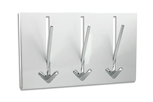 Diseño - Perchero de Pared en Negro - Perchero de Metal ...