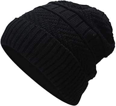 MONISE Women Winter Knit Beanie Hat Ladies Fashion Knitted Cap Headband