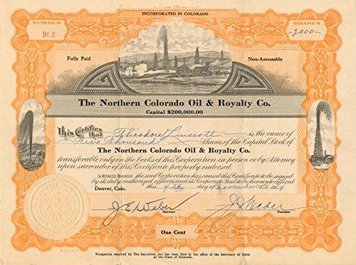 Northern Colorado Oil & Royalty Co.