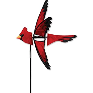 Premier Kites 23 In. North American Cardinal Spinner