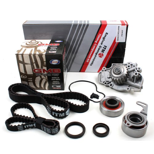 New ITM244WP Timing Belt Kit with Water Pump (GMB) for V-Tec F22B1 & F23A 98-99 Isuzu, 97-99 Acura & 94-02 Honda vehicles (Please see description for fitting models) Honda Balance Shaft Seal