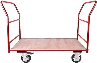 Platform Trolley Cart Barrow Platform Truck Weight Capacity 500Kgs Red