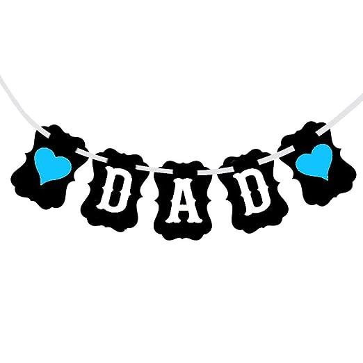 Minimew DAD Bunting Banner Día de padres regalo de ...