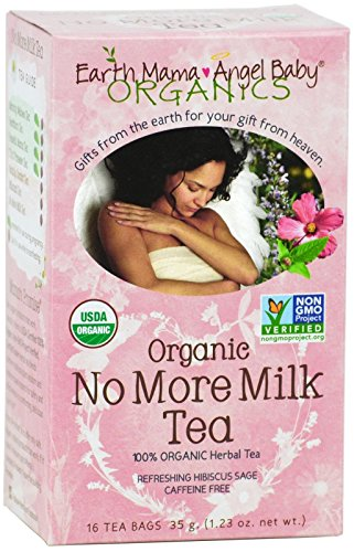 Earth Mama Organic No More Milk Tea, 16 Count