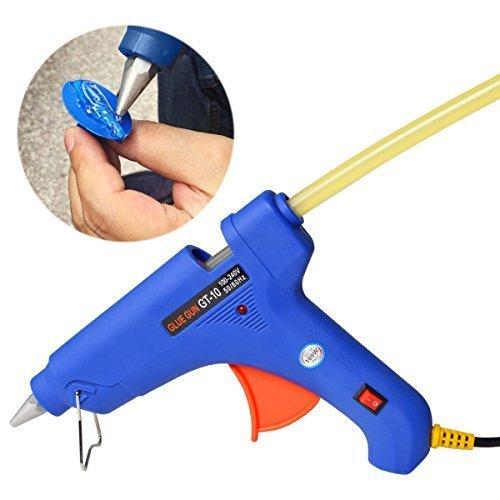 FLY5D 20Pcs Paintless Dent Repair Tool Car Repair Dent Remover Tool Set Hot Glue Sticks (Black+Yellow) by Fly5D (Image #2)