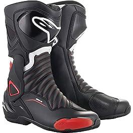 Alpinestars SMX-6 V2 Boots, Black/Red, 42