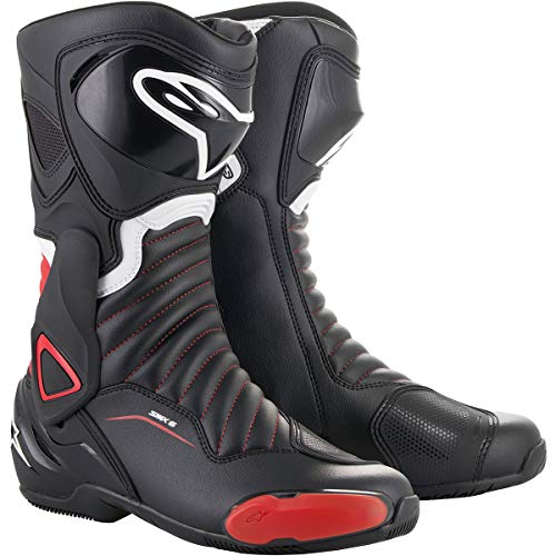 - SMX-6 v2 Motorcycle Boot (49 EU, Black Red)