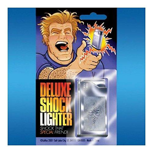 2 SHOCK LIGHTERS Shocking JOKE GAG MAGIC TRICK PRANK Funny Gifts