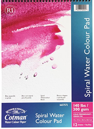 Winsor & Newton Cotman Cold Press Spiral Water Colour Paper...