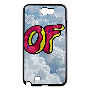Samsung Galaxy Note 2 N7100 2D Custom Hard Back Durable Phone Case with Odd Future Image