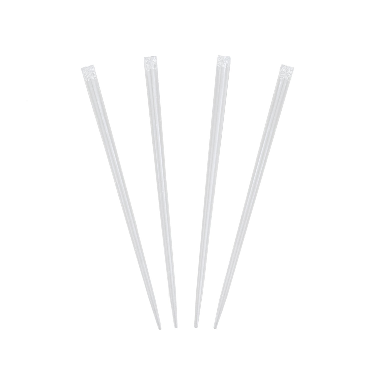 """Royal 4"""" Clear Prism Pick, Package of 500"""