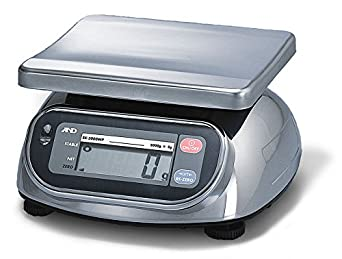 A&D SK-20KWP Washdown Digital Scale (NSF Listed) (NTEP CofC#98-086A2)