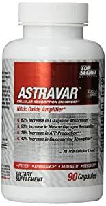 Top Secret Nutrition Astravar Stack and Ignite Capsules, 90 Count