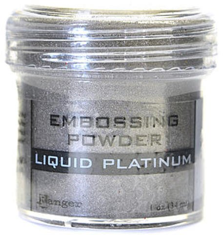 Ranger Specialty Embossing Powders (Liquid Platinum) 1 pcs sku# 1873347MA