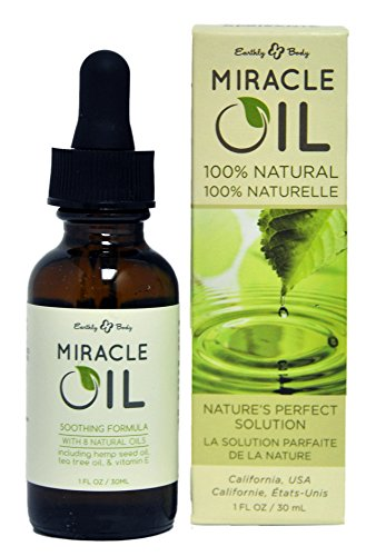 Earthly Body Miracle Oil, 1 Ounce (Pack of 2) ()