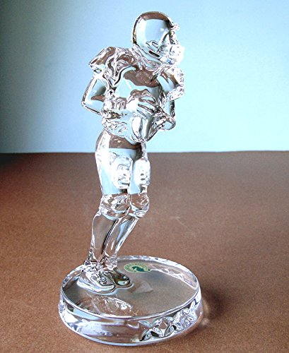 Football Waterford Crystal (Waterford Crystal Football Player Figurine Made in Ireland New In Box)