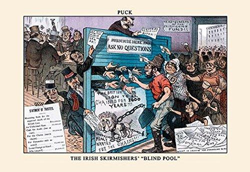 - Buyenlarge 'Puck Magazine: The Irish Skirmishers'