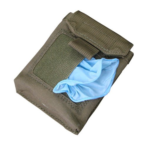 Condor Outdoors Condor EMT Glove Pouch (OLIVE DRAB),Olive Drab Green,Small