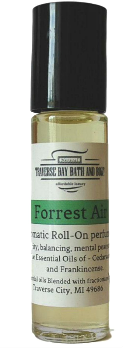 Forest air aromatic perfume oil, Synergy Blend, blended with 100% pure Essential Oils.