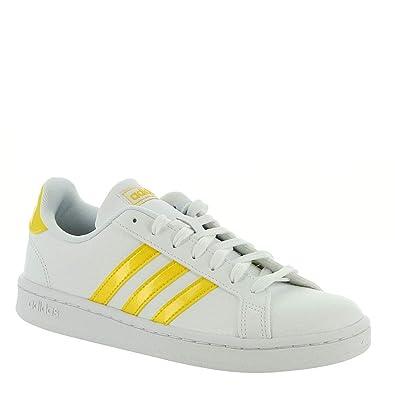 Amazon.com: adidas Grand Court Zapatillas para mujer, Blanco ...