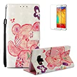 Funyye Wallet Premium Leather Case for Samsung